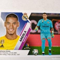 Cromos de Fútbol: AREOLA 2 BIS COLOCA REAL MADRID LIGA ESTE 2019 2020 PANINI. Lote 180176292