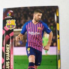 Cromos de Fútbol: LUIS SUÁREZ 71 BARCELONA MEGACRACKS 2019 2020 PANINI. Lote 180177218