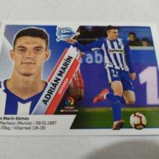 Cromos de Fútbol: ADRIÁN MARÍN 7 B ALAVÉS LIGA ESTE 2019 2020 PANINI. Lote 180207450