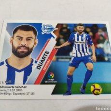 Cromos de Fútbol: DUARTE 7 A ALAVÉS LIGA ESTE 2019 2020 PANINI. Lote 180207507