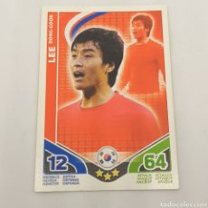 Cromos de Fútbol: (C-23) TOPPS MATCH ATTAX - WORLD CUP SUDAFRICA 2010 - (JAPON) LEE DONG-GOOK. Lote 180208635