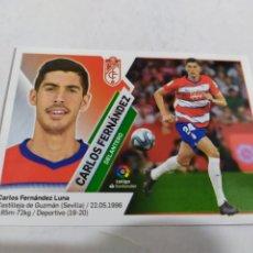 Cromos de Fútbol: CARLOS FERNÁNDEZ 14 BIS GRANADA COLOCA LIGA ESTE 2019 2020 PANINI. Lote 180208800