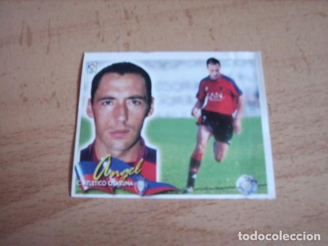 ESTE 00-01 COLOCA ANGEL OSASUNA --VENTANILLA-- (Coleccionismo Deportivo - Álbumes y Cromos de Deportes - Cromos de Fútbol)
