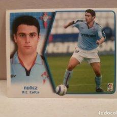Cromos de Fútbol: CROMO FUTBOL LIGA 2005 2006 EDICCIONES ESTE CELTA NUÑEZ COLOCA. Lote 180280966
