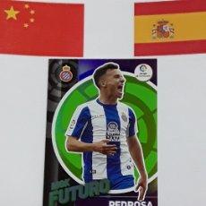 Cromos de Fútbol: MGK 2019 2020 MEGACRACKS 19 20 CROMO PANINI FUTURO N 402 ESPANYOL PEDROSA. Lote 180289728