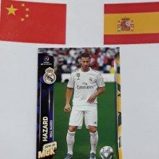 Cromos de Fútbol: MGK 2019 2020 MEGACRACKS 19 20 CROMO PANINI NUEVO FICHAJES N 406 REAL MADRID HAZARD. Lote 180289763
