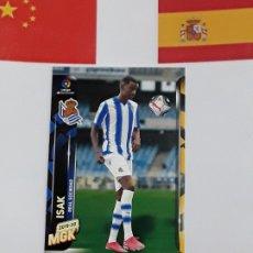 Cromos de Fútbol: MGK 2019 2020 MEGACRACKS 19 20 CROMO PANINI NUEVO FICHAJES N 409 REAL SOCIEDAD ISAK. Lote 180289780