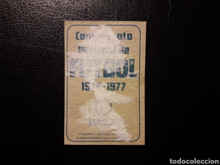 Cromos de Fútbol: BENEGAS AT DE MADRID. N° 31 RUIZ ROMERO 1976-1977 76-77 DESPEGADO. VER FOTOS DE FRONTAL Y TRASERA - Foto 2 - 180295963