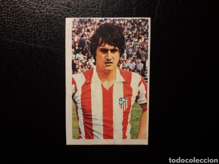 BENEGAS AT DE MADRID. N° 31 RUIZ ROMERO 1976-1977 76-77 DESPEGADO. VER FOTOS DE FRONTAL Y TRASERA (Coleccionismo Deportivo - Álbumes y Cromos de Deportes - Cromos de Fútbol)