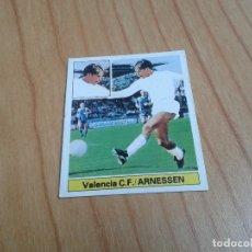 Cromos de Fútbol: ARNESSEN -- VALENCIA -- FICHAJE Nº 9 -- VERSIÓN -- 81/82 -- ESTE -- RECUPERADO. Lote 180335525