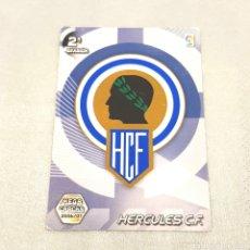 Cromos de Fútbol: (C-21) MEGA CRACKS 2006-2007 - 2A DIVISIÓN - (HÉRCULES) N°431 ESCUDO. Lote 180409260