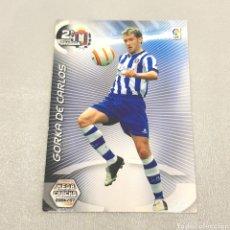 Cromos de Fútbol: (C-21) MEGA CRACKS 2006-2007 - 2A DIVISIÓN - (LORCA) N°441 GIRKA DE CARLOS. Lote 180409927
