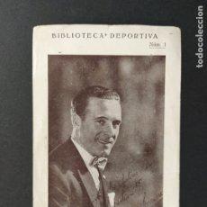 Cromos de Fútbol: HECTOR J. SCARONE-FC BARCELONA-BIBLIOTECA DEPORTIVA NUM·1-CROMO DE FUTBOL-VER FOTOS-(63.315). Lote 180421951