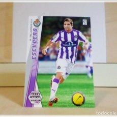 Cromos de Fútbol: MEGACRACKS 2008 2009 08 09 PANINI. ESCUDERO Nº 339 (VALLADOLID) CROMO LIGA FÚTBOL MEGA CRACKS MGK. Lote 180422046