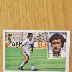 Cromos de Fútbol: ESTE LIGA 84/85...FICHAJE N °30...VALDANO... REAL MADRID... NUNCA PEGADO.. SIN PEGAR.... Lote 180439103