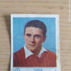 Cromos de Fútbol: CROMO Nº 1 YARZA REAL ZARAGOZA ÁLBUM ASES DEL FÚTBOL FERCA 1959 1960 (DESPEGADO). Lote 180468225