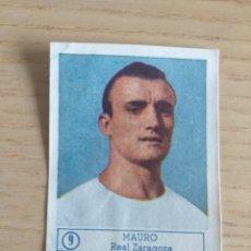Cromos de Fútbol: CROMO Nº 9 MAURO REAL ZARAGOZA ÁLBUM ASES DEL FÚTBOL FERCA 1959 1960 (DESPEGADO). Lote 180468380