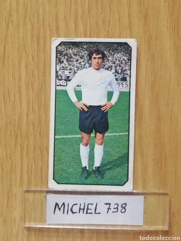 ESTE LIGA 77/78..LANCHAS..SALAMANCA.. RECUPERADO... (Coleccionismo Deportivo - Álbumes y Cromos de Deportes - Cromos de Fútbol)