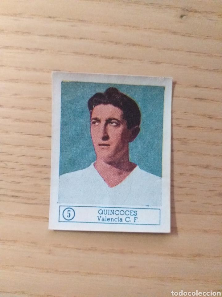 CROMO Nº 5 QUINCOCES ÁLBUM ASES DEL FÚTBOL FERCA 1959 1960 (DESPEGADO) (Coleccionismo Deportivo - Álbumes y Cromos de Deportes - Cromos de Fútbol)