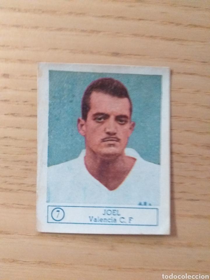 CROMO Nº 7 JOEL ÁLBUM ASES DEL FÚTBOL FERCA 1959 1960 (DESPEGADO) (Coleccionismo Deportivo - Álbumes y Cromos de Deportes - Cromos de Fútbol)