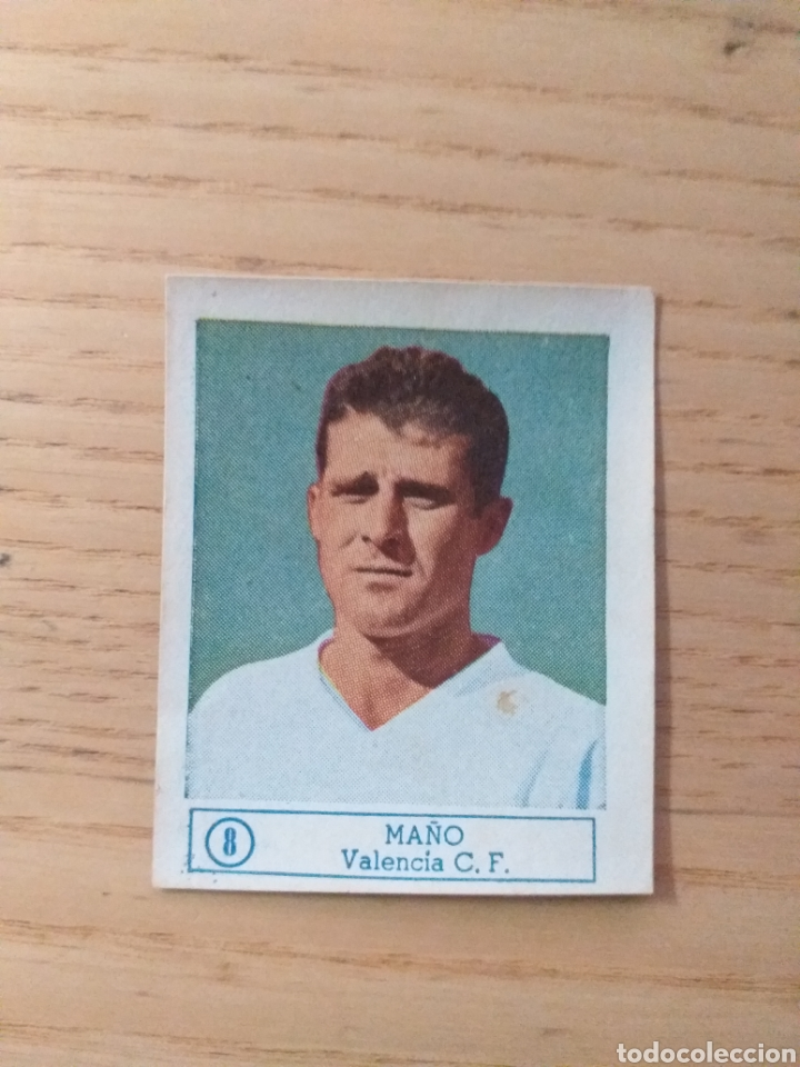 CROMO Nº 8 MAÑO ÁLBUM ASES DEL FÚTBOL FERCA 1959 1960 (DESPEGADO) (Coleccionismo Deportivo - Álbumes y Cromos de Deportes - Cromos de Fútbol)