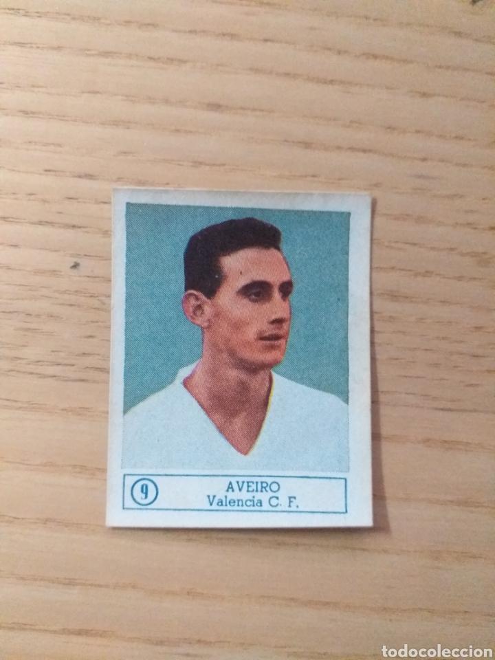 CROMO Nº 9 AVEIRO ÁLBUM ASES DEL FÚTBOL FERCA 1959 1960 (DESPEGADO) (Coleccionismo Deportivo - Álbumes y Cromos de Deportes - Cromos de Fútbol)