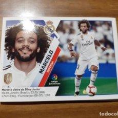 Cromos de Fútbol: CROMO COLECCIONES ESTE 2019/2020,EDITORIAL PANINI,EQUIPO REAL MADRID,JUGADOR MARCELO. Lote 181119398