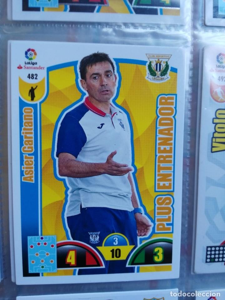 ADRENALYN XL 2017-18 PLUS ENTRENADOR Nº 482 ASIER GARITANO (Coleccionismo Deportivo - Álbumes y Cromos de Deportes - Cromos de Fútbol)