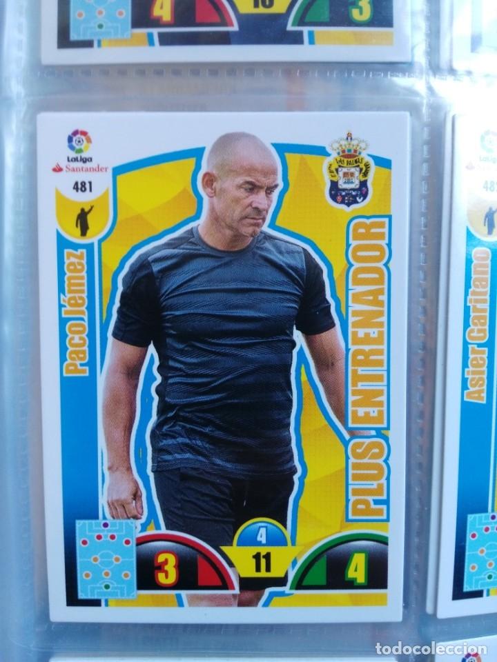 ADRENALYN XL 2017-18 PLUS ENTRENADOR Nº 481 PACO JEMEZ (Coleccionismo Deportivo - Álbumes y Cromos de Deportes - Cromos de Fútbol)