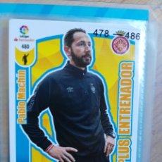 Cromos de Fútbol: ADRENALYN XL 2017-18 PLUS ENTRENADOR Nº 480 PABLO MACHIN. Lote 181346052