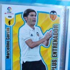 Cromos de Fútbol: ADRENALYN XL 2017-18 PLUS ENTRENADOR Nº 488 MARCELINO GARCIA. Lote 181348550