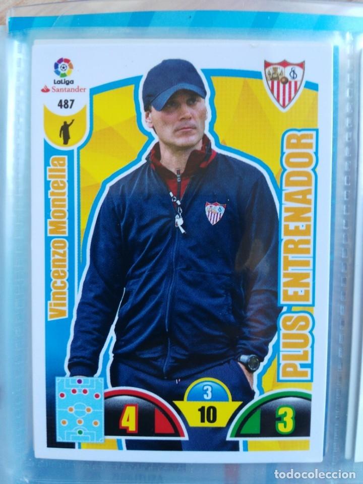 ADRENALYN XL 2017-18 PLUS ENTRENADOR Nº 487 VINCENZO MONTELLA (Coleccionismo Deportivo - Álbumes y Cromos de Deportes - Cromos de Fútbol)