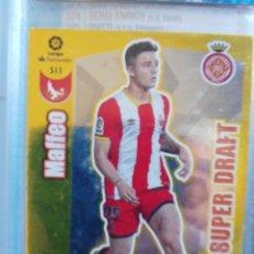 Cromos de Fútbol: ADRENALYN XL PANINI 2017-18 NUEVO SUPER DRAFT Nº 511 MAFFEO. Lote 181349035