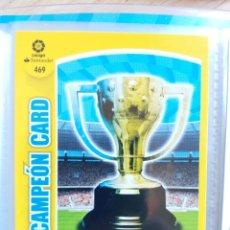 Cromos de Fútbol: ADRENALYN XL PANINI 2017-18 Nº 469 CAMPEON CARD. Lote 181349560