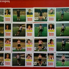 Cromos de Fútbol: (SIN PEGAR) LOTE 16 CROMOS JUGADORES ATHLETIC CLUB DE BILBAO - FHER LIGA 73 - 74 / 1973 1974. Lote 202894686