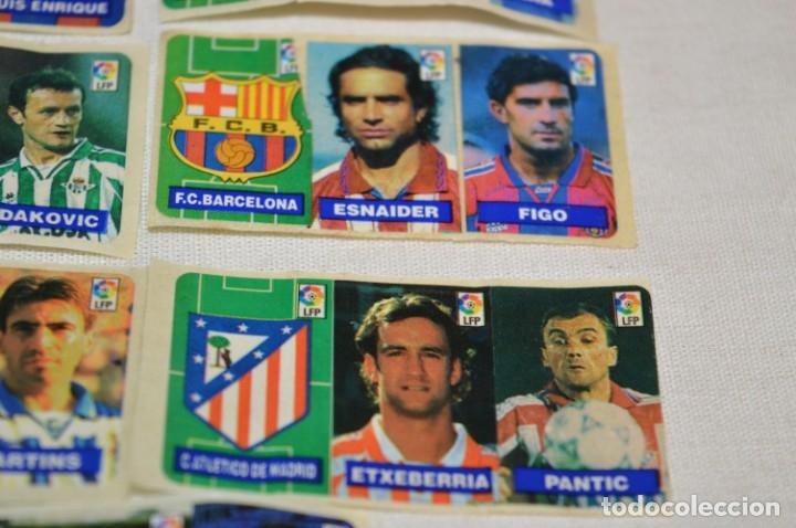 Cromos de Fútbol: Oportunidad, 42 Cromos adhesivos CHICLES CAMPEON / 14 tiras - Años 90 - ¡Mira! - Lote 03 - Foto 7 - 181425667