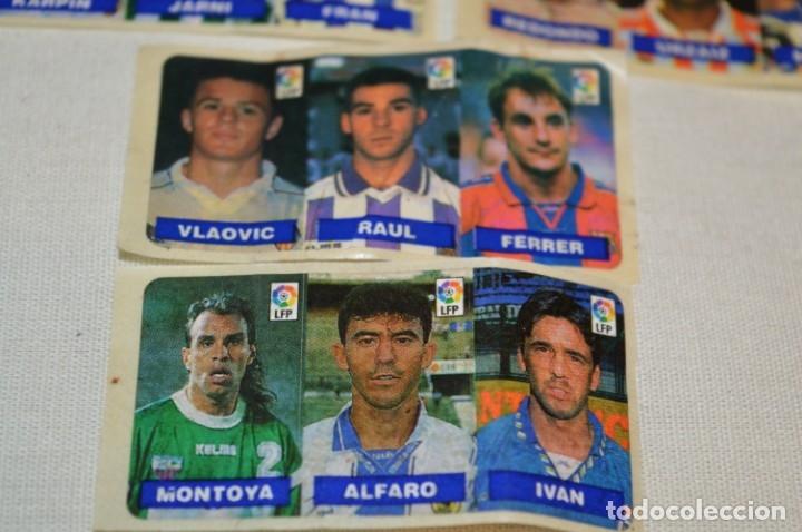 Cromos de Fútbol: Oportunidad, 42 Cromos adhesivos CHICLES CAMPEON / 14 tiras - Años 90 - ¡Mira! - Lote 03 - Foto 8 - 181425667