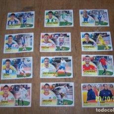 Cromos de Fútbol: LOTE 12 CROMOS MERCADO INVIERNO 2016/2017 PANINI. LIGA. LEER DESCRIPCIÓN. Lote 181466038