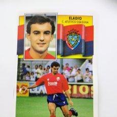 Cromos de Fútbol: ELADIO, BAJA C ATL. OSASUNA, EDITORIAL ESTE 90/91, DESPEGADO. Lote 181517555