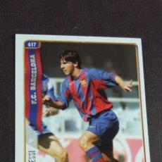 Cromos de Fútbol: MUNDICROMO LIGA 2004 2005 04 05 - 617 MESSI - FC. BARCELONA - ROOKIE CARD. Lote 181524820