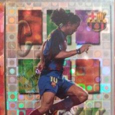 Cromos de Fútbol: 161 RONALDINHO (EL CRACK) - ROOKIE DEL F.C. BARCELONA - MUNDICROMO 2004. Lote 229489550