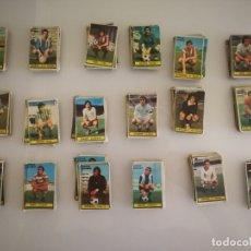 Cromos de Fútbol: LOTE 252 CROMOS DIFERENTES CHICLES SANBER LIGA 74 75 . Lote 181570658