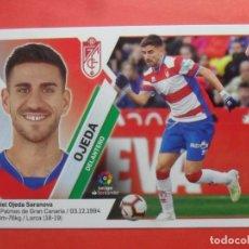 Cromos de Fútbol: LIGA ESTE 2019 2020 - 13 OJEDA - GRANADA - 19 20 - PANINI. Lote 181622345