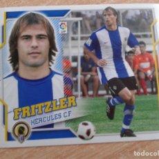 Cromos de Fútbol: EDICIONES ESTE 2010 2011 10 11 FICHAJE Nº 21 FRITZLER HERCULES NUEVO SIN PEGAR. Lote 181674416