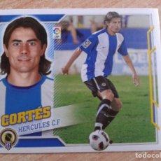 Cromos de Fútbol: EDICIONES ESTE 2010 2011 10 11 FICHAJE Nº28 28 CORTES HERCULES NUEVO CROMO NUNCA PEGADO. Lote 181675102