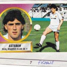 Cromos de Fútbol: ESTE 88-89 - ESTEBAN *FICHAJE Nº 7* - (RECORTADO,DESPEGADO). Lote 181900041