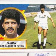 Cromos de Fútbol: ESTE 88-89 - FLORES *FICHAJE Nº 8* - (RECORTADO,DESPEGADO). Lote 181900370