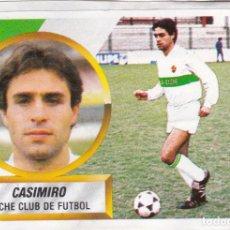 Cromos de Fútbol: ESTE 88-89 - CASIMIRO *FICHAJE Nº 11* - (RECORTADO,DESPEGADO). Lote 181900735
