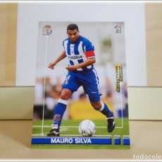 Cromos de Fútbol: MEGAFICHAS 2003 2004 03 04 PANINI. MAURO SILVA Nº 118 (DEPORTIVO CORUÑA) CROMO FÚTBOL MEGACRACKS. Lote 182203552