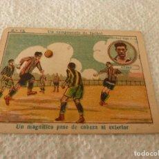 Cromos de Fútbol: (LLL)-CROMO 1922 CHOCOLATE AMATLLER - UN CAMPEONATO DE FUTBOL Nº: 12. Lote 182454375